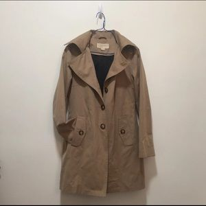 Michael Kors Tan Trench XS